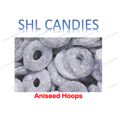 Aniseed Hoops Candy *SHL Candies* - (2kg bag | apx 259pcs)