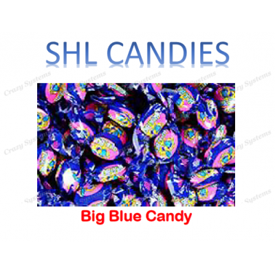 Big Blue Wrapped Hard Boiled Candy *SHL Candies* (2kg bag | apx 432pc)