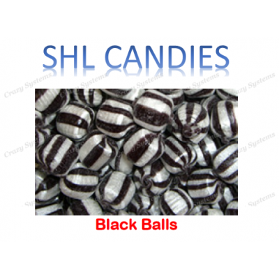 Black Balls Hard Boiled Candy *SHL Candies* (2kg bag)