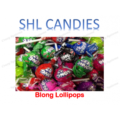 Blong Lollipops Wrapped *SHL Candies* (2.4kg bag | apx 200pc)