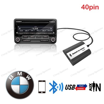 DrivePro BMW BM02 (40pin) Bluetooth Usb Aux Integration Car Kit