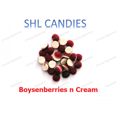 Gummi Boysenberries n Cream Candy *SHL Candies* - (2kg bag | apx 390pcs)