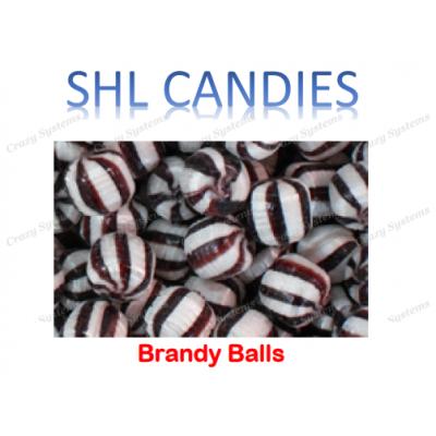 Brandy Balls Hard Boiled Candy *SHL Candies* (2kg bag)