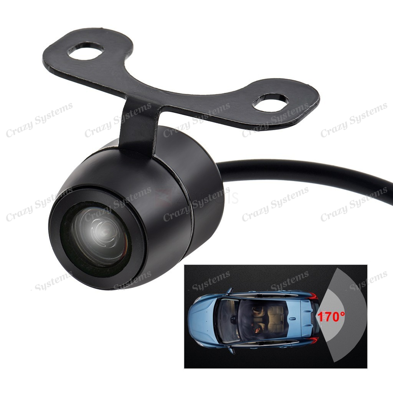 DrivePro DPC6253 Universal Butterfly Mount HD Reverse Camera - With Parking Line
