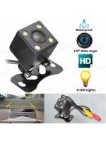 DrivePro DPC6250 Universal Wide Angle HD (4 L.E.D) Reverse Camera - Parking Line