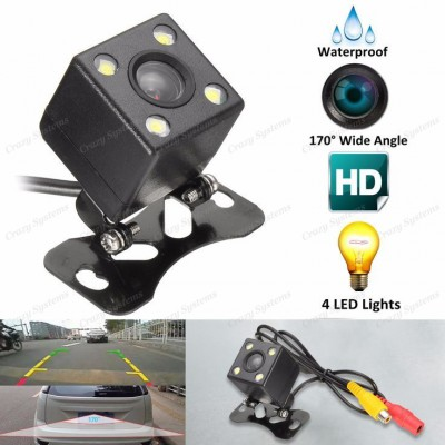 DrivePro DPC6250 Universal Wide Angle HD (4 L.E.D) Reverse Camera - Parking Line