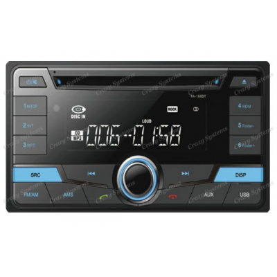 Domain DM-TA-168BT Toyota 200x100mm CD/BT/AUX Multi Media Player