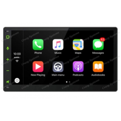 "Domain DM-AP8702NBT 6.75"" Apple CarPlay & Android Auto Mechless MultiMedia Unit"