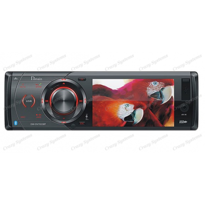 Domain DM-DV7835BT DVD / CD / MP4 / MP3 / USB / SD Playback with Bluetooth