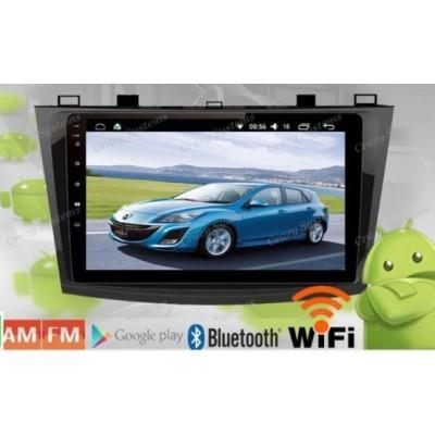 Mazda 3 Axela Car PC Stereo Navigation BT 9inch Android6.0