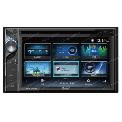 "Domain DM-DV5662NVU 6.2"" DVD/NAV/USB/BT Multimedia Unit"