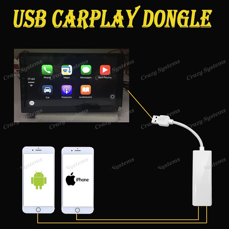 3in1 CarPlay / Android Auto / Screen Mirroring Adapter for Android