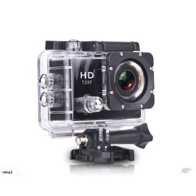 "2.0"" LCD HD Waterproof Action Sports Camera - 1080P 15FPS - Multiple Accessories"