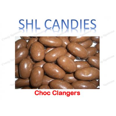 Chocolate Clangers *SHL Candies* - (2kg bag)