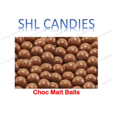 Chocolate Malt Balls *SHL Candies* - (1.5kg bag)