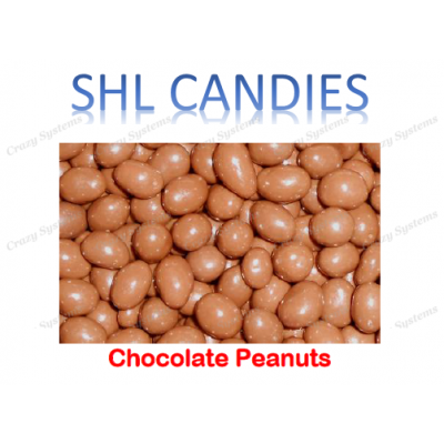 Chocolate Coated Peanuts *SHL Candies* - (2kg bag)