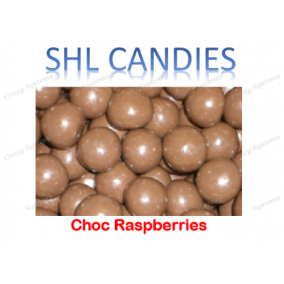 Chocolate Coated Raspberries *SHL Candies* - (1.5kg bag)