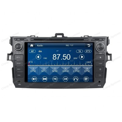 Toyota Corolla Win6.0 OEM Radio (2006-2011) **HD Capacitive Screen|GPS|BT|DVD**