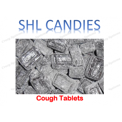 Cough Tablets Hard Boiled Candy *SHL Candies* (2kg bag)