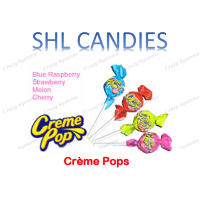 Creme Pops Lollipops Wrapped *SHL Candies* (2.6kg bag | apx 200pc)