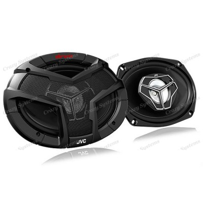 JVC CS-V6938 | DRVN 6×9″ 400W 3-Way Speakers