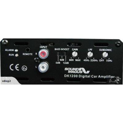 SOUNDMAGUS DK1200 CLASS D - 1200w RMS MONO AMP - 1O STABLE