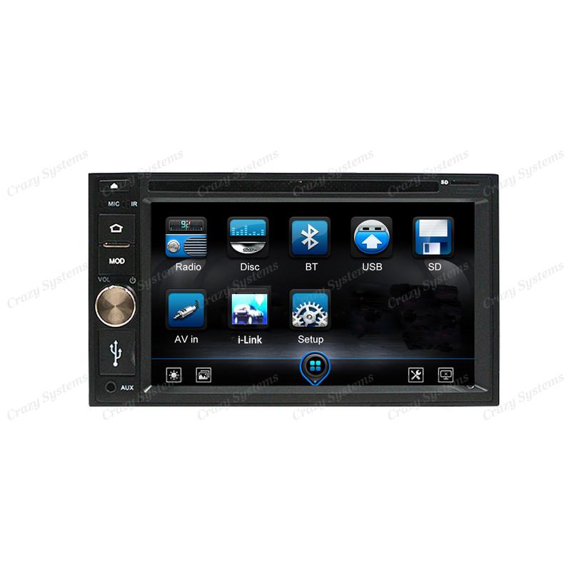 "DrivePro DPR0356 - 6.2"" USB,AUX,DVD,BT, FM/AM STEREO"