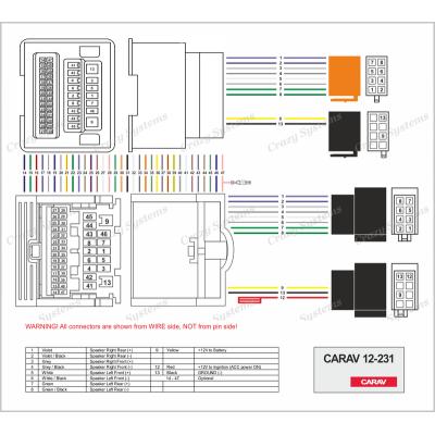 CHEVROLET 2009+ / OPEL 2009+  - T ISO Loom