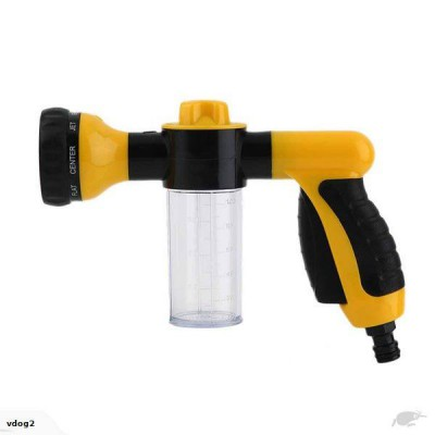 Portable Foam & Water Sprayer Pressure Gun - Connects to standard hose fittings