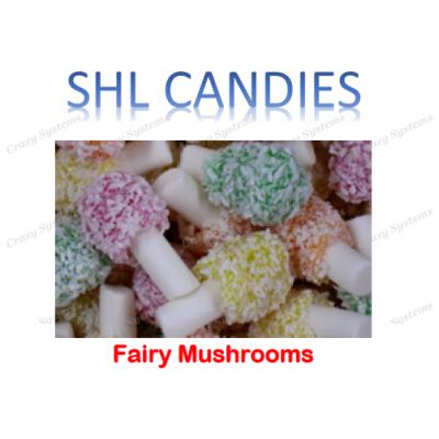 Fairy Mushrooms *SHL Candies* - (2kg bag)