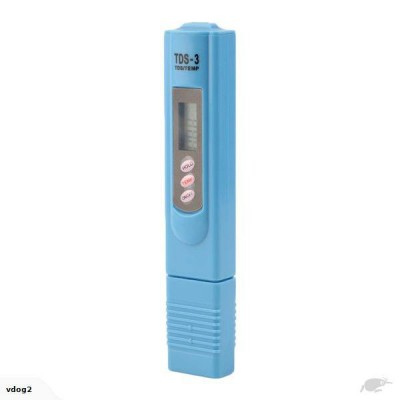 Portable TDS LCD Digital Water Quality Test Pen - 0-9990ppm