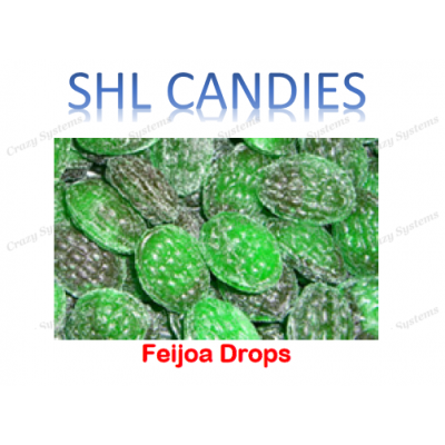 Feijoa Drops Hard Boiled Candy *SHL Candies* (2kg bag)