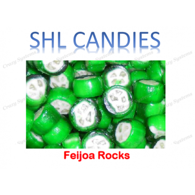 Feijoa Rocks Hard Boiled Candy *SHL Candies* (2kg bag)