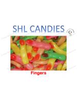 Gummi Fingers Candy *SHL Candies* - (2kg bag | apx 305pcs)