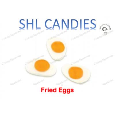 Gummi Fried Eggs Candy *SHL Candies* - (2kg bag | apx 526pcs)