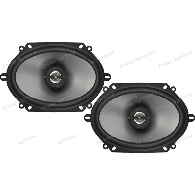 "JBL GT7-86 5x7"" / 6x8"" 180W (60W RMS) 2 Ways Coaxial Car Speakers (pair)"