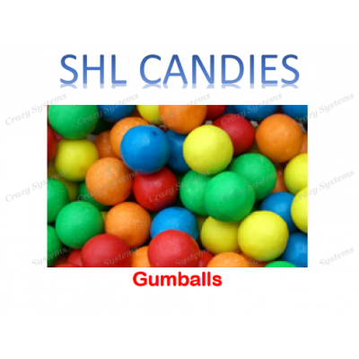 Gumballs Bubblegum Candy *SHL Candies* - (1kg bag | apx 170pcs)
