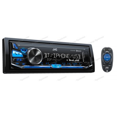 JVC KD-X341BT Mechless | iPod/iPhone/Android | Bluetooth