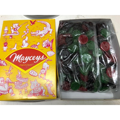Maycey's Jungle Berries - Gummy Candy *SHL Candies* (apx 1.6kg bag   apx 265pcs)