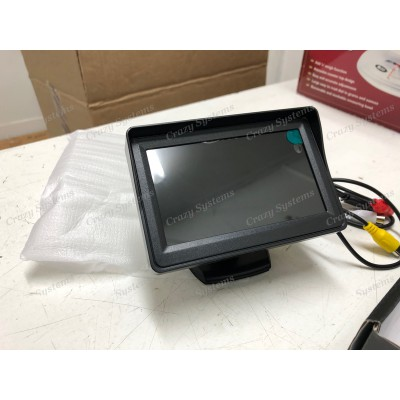 "DrivePro - 4.3"" Universal Dash Mount Rear View Monitor"