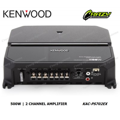 KENWOOD KAC-PS702EX 2-Channel Amplifier 500W