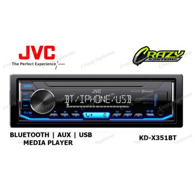 JVC KD-X351BT DIGITAL MEDIA RECEIVER WITH BLUETOOTH/ USB/ AUX /SPOTIFY
