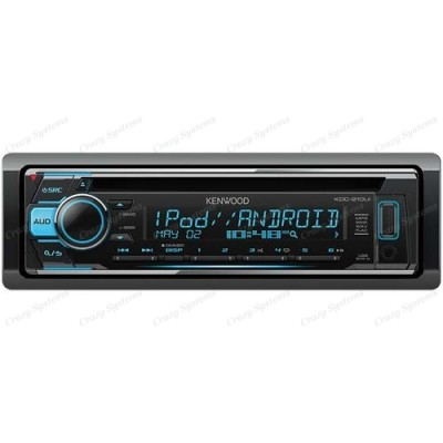 Kenwood KDC-210UI - CD MP3 Tuner with Android Direct, iPod Direct, USB & Aux