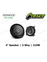 """KENWOOD KFC-E1065 4"""" (10CM) 2-WAY SPEAKER SYSTEM 210W"""