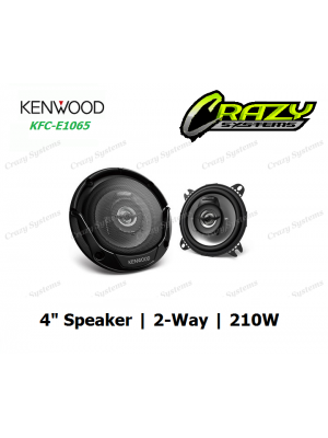 "KENWOOD KFC-E1065 4"" (10CM) 2-WAY SPEAKER SYSTEM 210W"