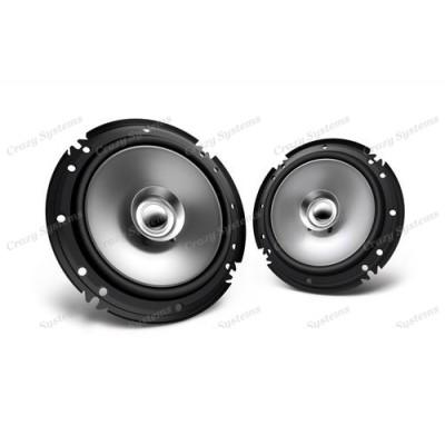 "Kenwood KFC-E1655 6.5"" 300W (16cm) Dual Cone Speakers"