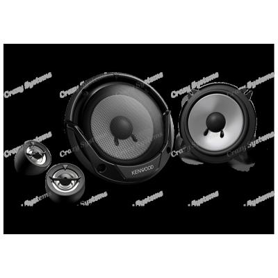 "Kenwood KFC-E715P 6.75"" 300W 2 Ways Car Component Speakers (Pair)"