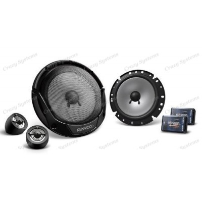 "Kenwood KFC-E715P 6.75"" 300W 2 Ways Car Component Speakers (Pair)"
