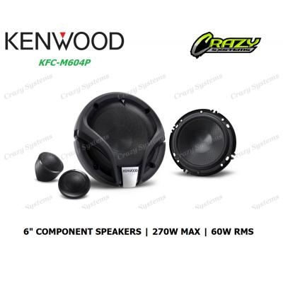 """Kenwood KFC-M604P 6"""" 270W (60W RMS) 2 Ways Component Car Speakers"""