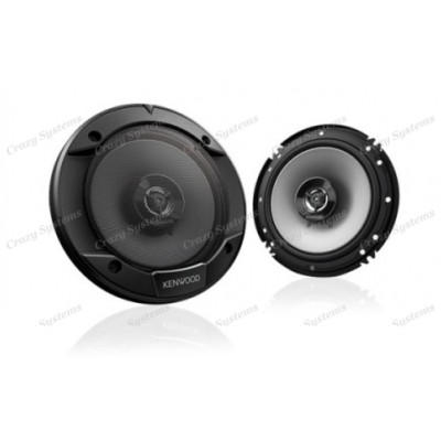 "KENWOOD KFC-S1666 6.5"" (16CM) 2-WAY COAXIAL FLUSH MOUNT SPEAKERS 300W"